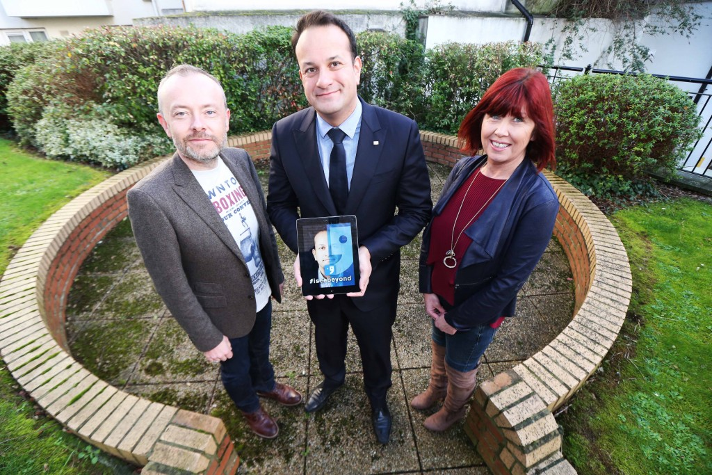 #iseebeyond campaign launced by Rock O'Shea and Leo Varadkar