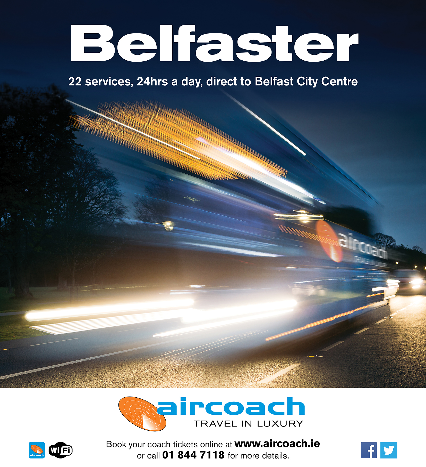 Bubble Digital - Aircoach Belfast